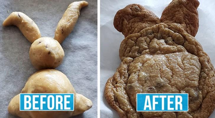 Koken in quarantaine: 12 hilarische afbeeldingen van rampzalige recepten die door geïmproviseerde chefs zijn uitgeprobeerd