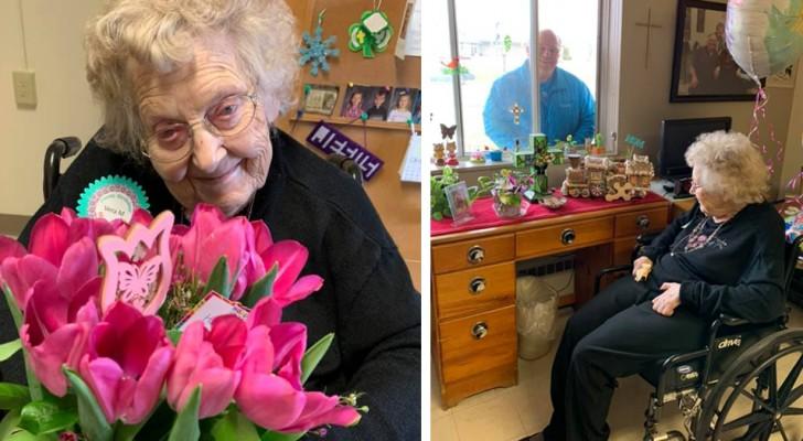 Elle vainc le coronavirus deux jours après avoir fêté ses 104 ans : un record qui donne de l'espoir aux personnes les plus âgées