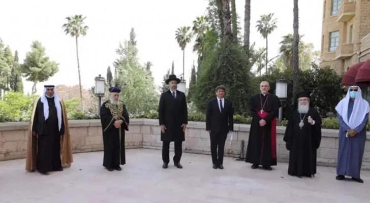 Jerusalem: Juden, Muslime und Christen beten gemeinsam für den Sieg über Covid-19