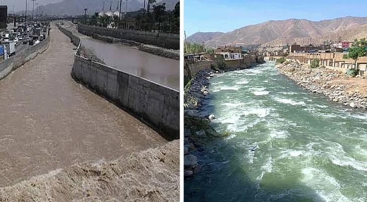 Pérou : les eaux d'une rivière très polluée redeviennent claires grâce à la quarantaine