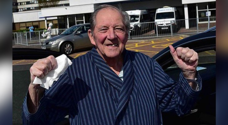 William, il nonno con un solo polmone che ha sconfitto il Coronavirus dopo aver battuto il cancro