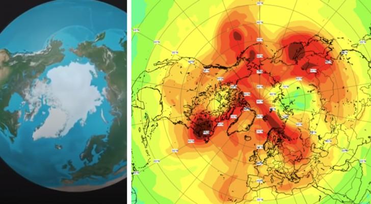 Das arktische Ozonloch hat sich geschlossen: Es war das größte, das jemals am Nordpol entdeckt wurde