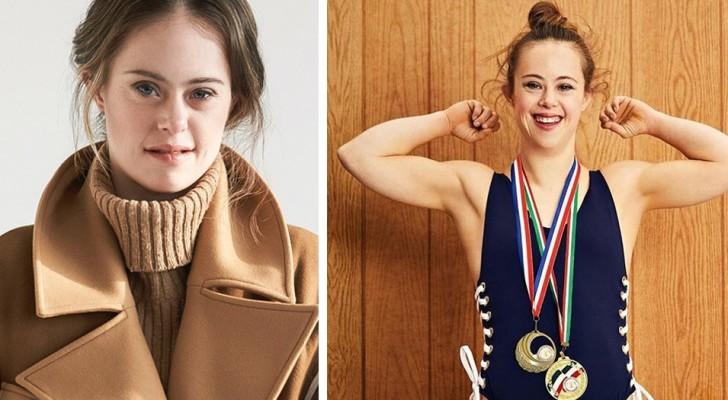 Olympisch kampioene en model: ze heeft het syndroom van Down en een grote kracht waarmee ze haar dromen heeft laten uitkomen