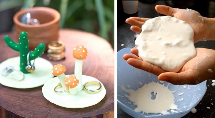 Comment fabriquer de la pâte à modeler en bicarbonate, parfaite pour créer des décorations et des petits objets