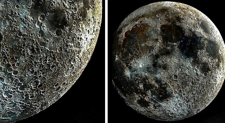 Un fotografo riesce a catturare uno degli scatti più nitidi della Luna, combinando le varie fasi in una sola foto