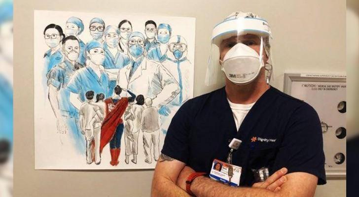 Een anonieme gever schenkt 1 miljoen dollar aan een ziekenhuis, dat onder alle medewerkers wordt gedeeld