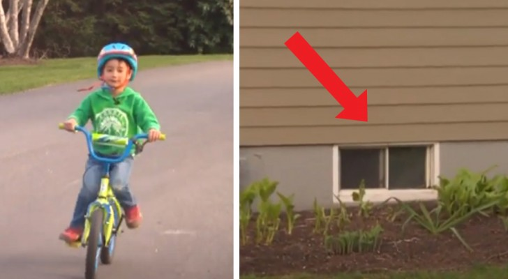 A 3-year-old boy rescues his elderly neighbor who was accidentally trapped in the basement for 3 days