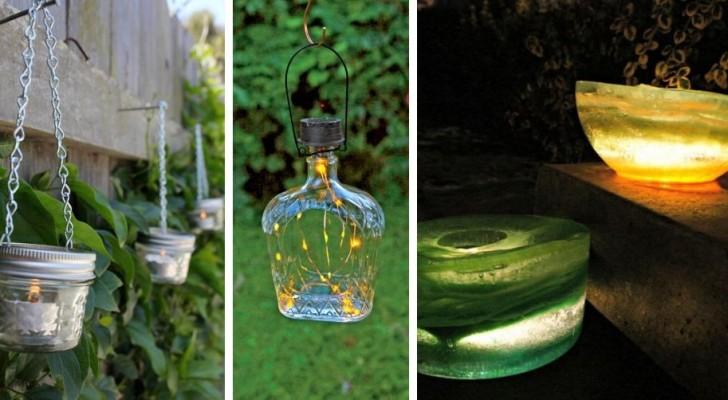 16 splendidi progetti fai-da-te per creare originalissime lanterne da esterno