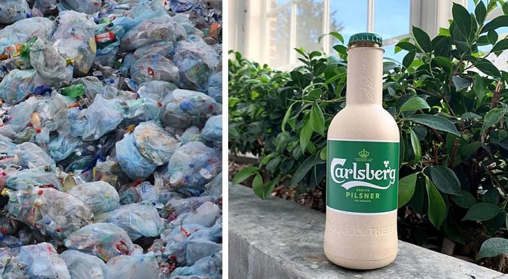 Un'azienda ha sviluppato una speciale plastica a base vegetale in grado di decomporsi nel giro di un anno