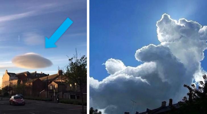 20 nuages aux formes les plus étranges qui ont poussé les gens à s'arrêter pour les photographier