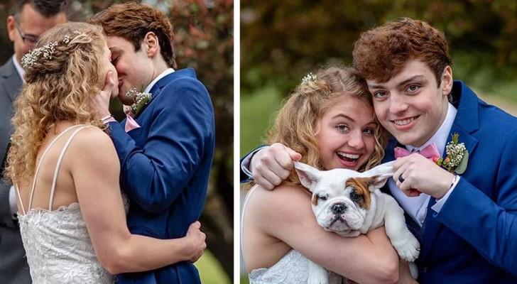 Hij heeft nog een paar maanden te leven vanwege een tumor, dus besluit hij voor hij overlijdt met zijn vriendin te trouwen