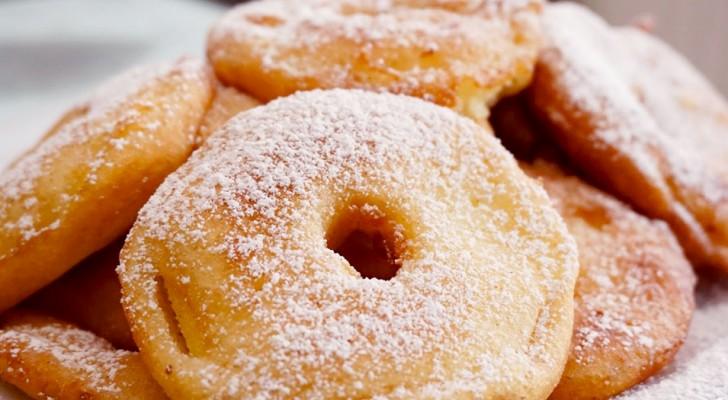 Appelbeignets: de eenvoudige stappen om ze in de oven te bereiden met 3 ingrediënten en weinig tijd