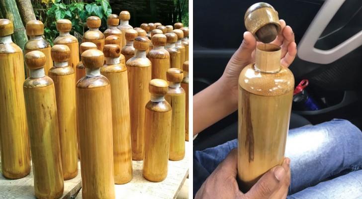 In einem Bezirk in Indien sollen Bambusflaschen an Touristen abgegeben werden, um die Verschmutzung durch Plastik zu verringern