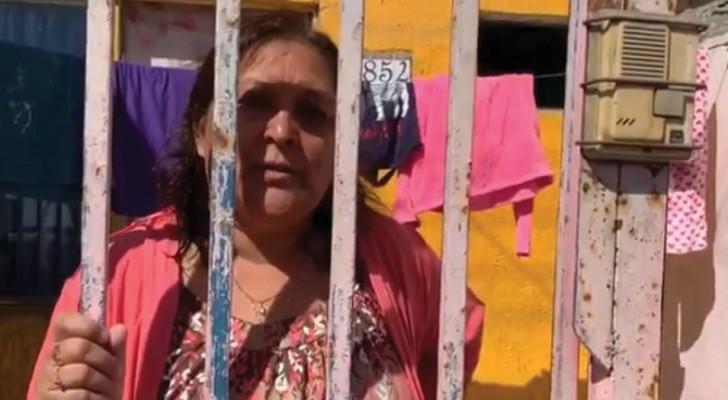 Deze vrouw stond de hulp vanwege de medische noodsituatie aan de buurman af die deze het hardst nodig had