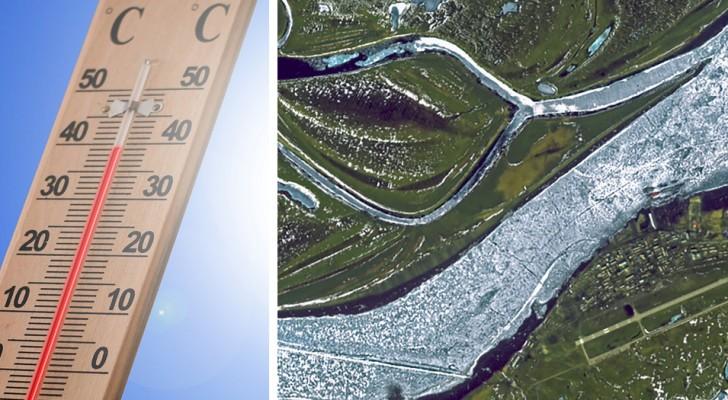 Forte ondata di calore in Siberia: in questa cittadina la massima è di 25 °C, ma di solito è 0° C