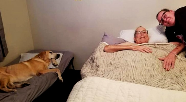 A man with cancer and his dog die within one hour of each other