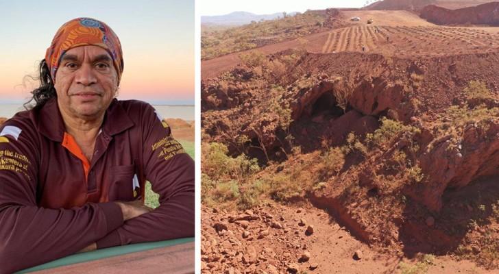 Una società mineraria ha fatto saltare in aria una grotta aborigena risalente a 46.000 anni fa