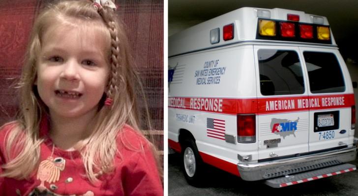 Um homem está tendo um ataque cardíaco: sua filha de 5 anos pede ajuda, mostrando um instinto fora do comum