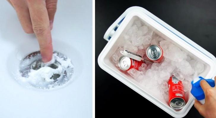 6 trucchi semplici ed efficaci per sfruttare al meglio il sale nelle faccende domestiche