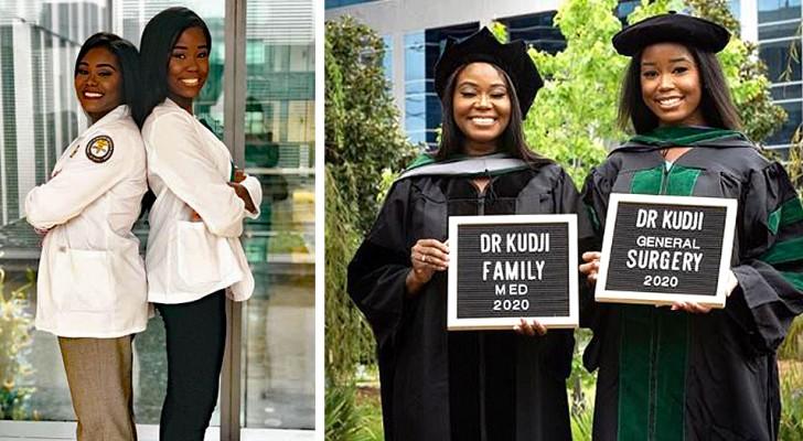 Mutter und Tochter machen gleichzeitig ihren Abschluss in Medizin und fangen an, am selben Krankenhaus zu arbeiten