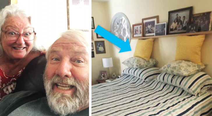 Una donna fotografa ogni giorno i tentativi del marito di rifare il letto: il risultato è esilarante