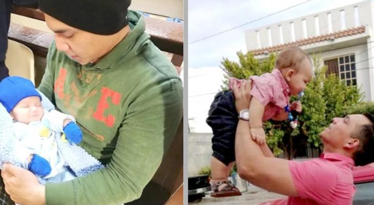 Pappan får vårdnaden om sin son och tar honom ifrån sitt ex som inte ens ville behålla barnet