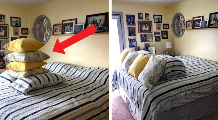 A woman stops making the bed after 45 years and assigns her husband to do it: his attempts are hilarious