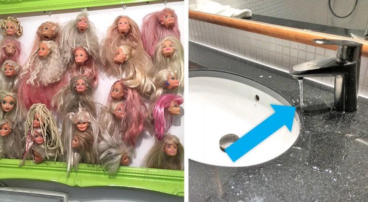 12 Fotos von Hotels, die die Gäste mit an Absurdität grenzenden Details überraschten