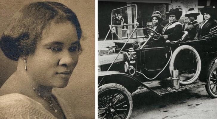 Madam CJ Walker è la prima donna afroamericana milionaria: diventò ricca grazie alle sue sole forze