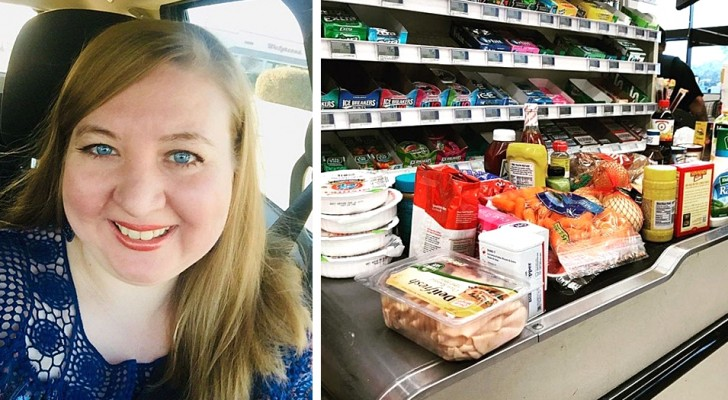 Single father can't pay his grocery bill: a stranger in line offers to pay for it instead