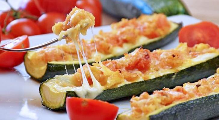 Caprese met courgettes: het gemakkelijke en smakelijke recept waarmee je een goed figuur slaat aan tafel