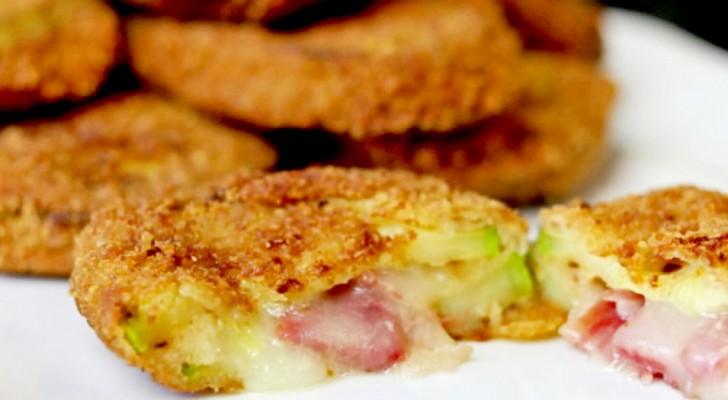 Courgette cordon bleu: het eenvoudige recept om dit gerecht te bereiden met weinig calorieën en vol van smaak
