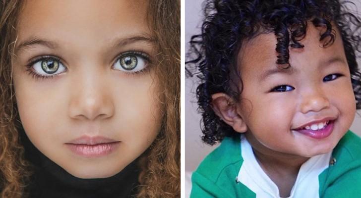 15 Fotos zeigen die ganze Schönheit von Kindern aus Mischehen