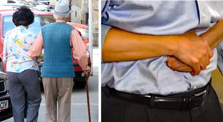 Una ragazzina di 13 anni salva la vita a un anziano che stava soffocando per strada