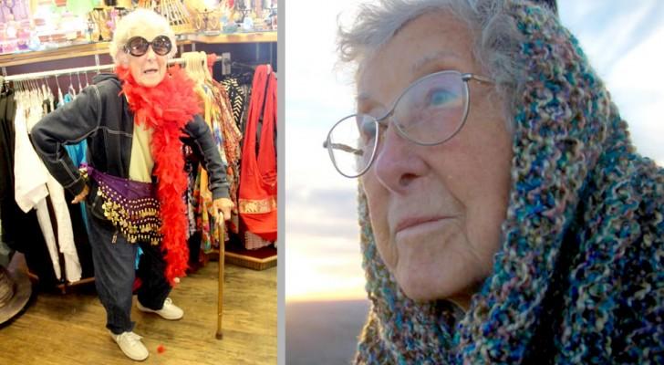 Una anciana de 90 años se niega a la quimioterapia y decide de viajar por los Estados Unidos con la familia