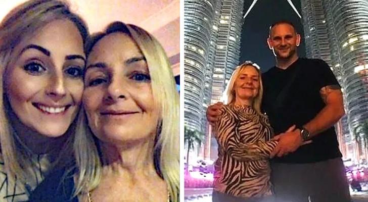 Les mariés invitent leur belle-mère pour leur lune de miel : à leur retour, l'épouse découvre que sa mère est enceinte de son gendre