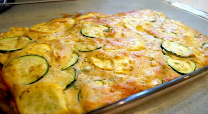 Zucchini and cheese gratin: a easy recipe to prepare it at home with few ingredients and lots of flavor