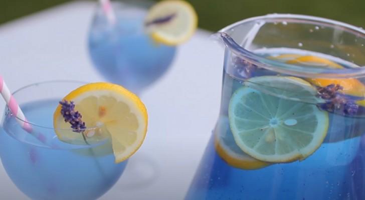 Lavendellemonad, en uppfräschande dryck som håller ångest och stress på avstånd