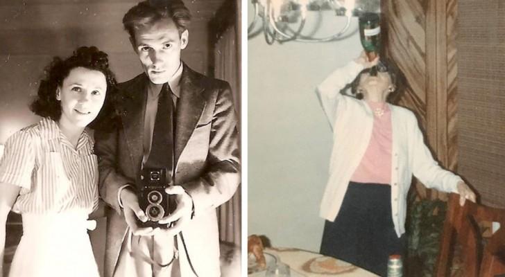 """15 oude foto's die laten zien hoe onze familieleden toen ze jong waren er """"cooler"""" uitzagen dan wij"""