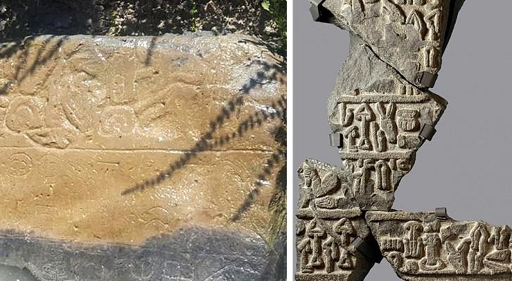 Turchia: un contadino scopre una stele di 3000 anni che racconta la sconfitta del mitico Re Mida