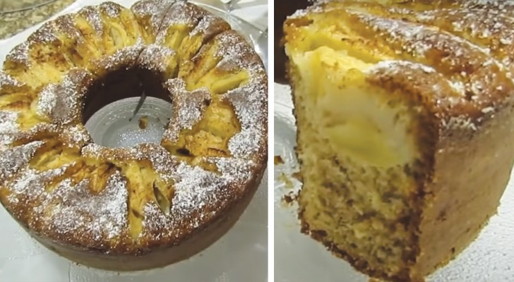 Gâteau aux pommes et à la cannelle : la recette très simple pour le rendre moelleux