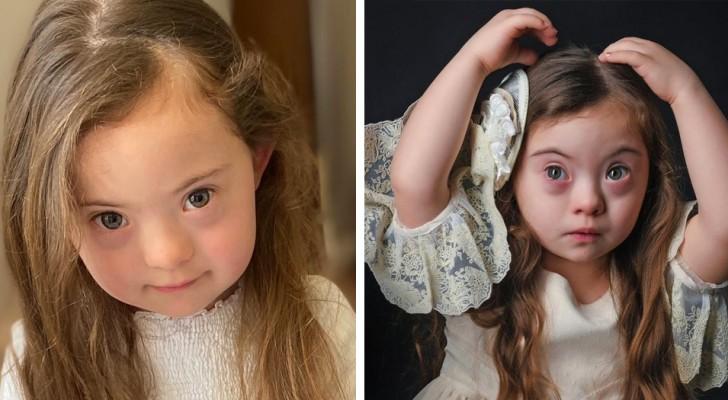 La Sindrome di Down non ha fermato i sogni della piccola Francesca: a 4 anni è già una reginetta della moda