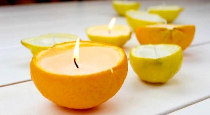 Il metodo per realizzare una candela al limone per allontanare le zanzare in modo semplice e fai-da-te