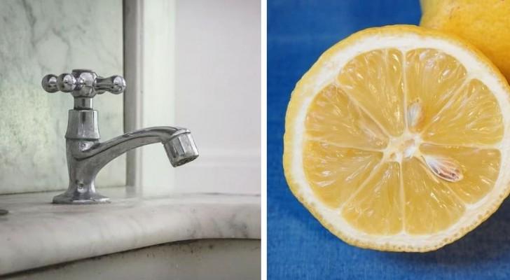 Il metodo fai-da-te semplice ed economico per eliminare il calcare dai rubinetti e farli tornare a brillare