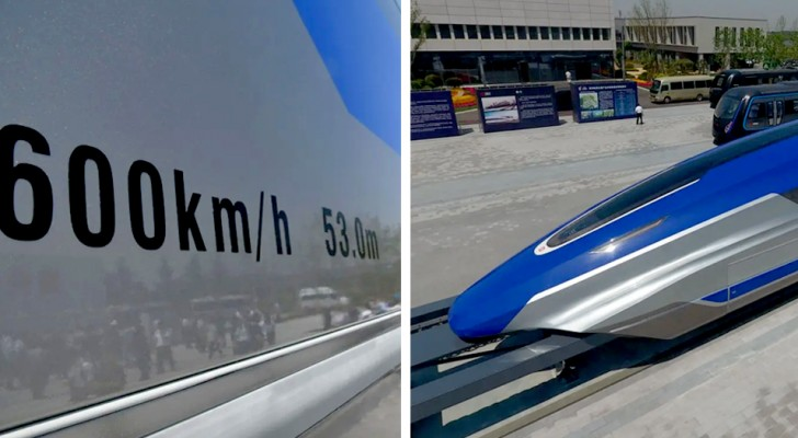 In Cina stanno progettando un treno che potrebbe superare 600 km orari in viaggio: forse più veloce di un aereo