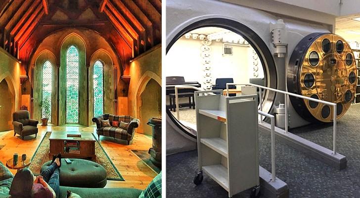 14 vieux bâtiments qui ont été transformés en quelque chose de nouveau grâce au génie des concepteurs