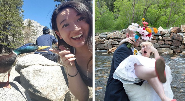 15 foto dal tempismo perfetto che hanno colto i momenti esatti in cui stava per accadere una disavventura