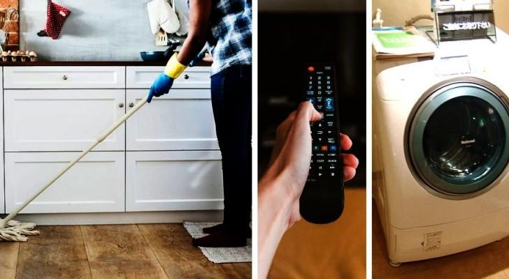 Le abitudini più diffuse da correggere o evitare quando ci occupiamo delle pulizie
