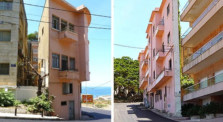 Un uomo ha costruito un palazzo alto e strettisimo per bloccare la vista sul mare a suo fratello