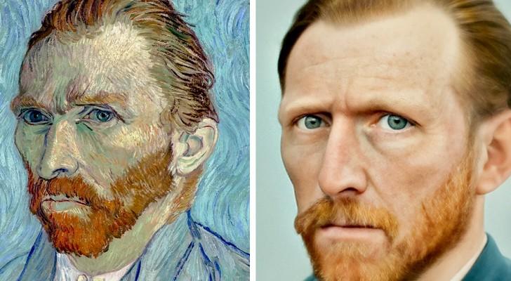 Un fotografo crea ritratti iperrealistici dei personaggi del passato grazie a un software di intelligenza artificiale
